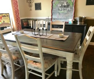 Diy Chalk Paint Farmhouse Table Makeover Urban Contentment